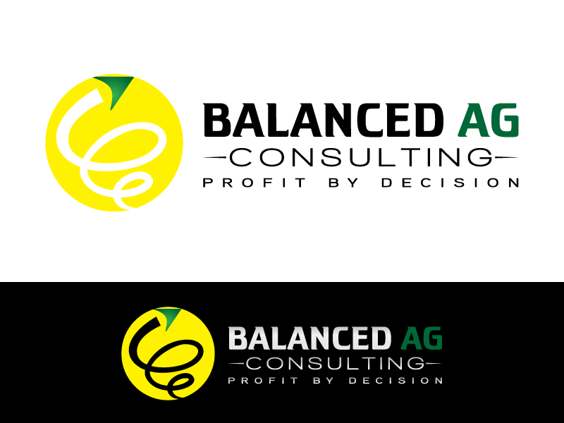 Logo Design by Art_Chaza - Entry No. 94 in the Logo Design Contest Captivating Logo Design for Balanced Ag Consulting.