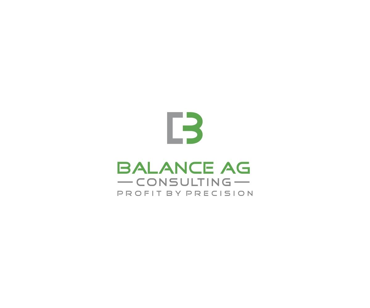 Logo Design by Green Line - Entry No. 107 in the Logo Design Contest Captivating Logo Design for Balanced Ag Consulting.
