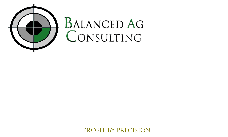 Logo Design by Daniella Eisenberg - Entry No. 116 in the Logo Design Contest Captivating Logo Design for Balanced Ag Consulting.