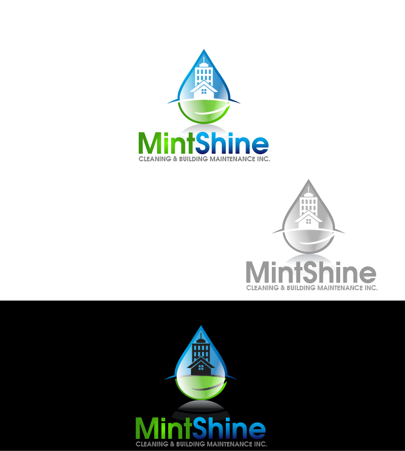 Logo Design by Private User - Entry No. 45 in the Logo Design Contest New Logo Design for mintSHINE cleaning and building maintenance.