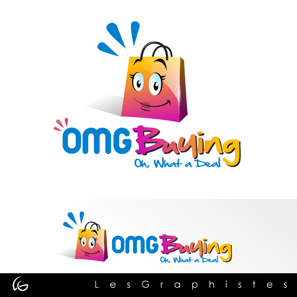 Logo Design by Les-Graphistes - Entry No. 55 in the Logo Design Contest OMGbuying.
