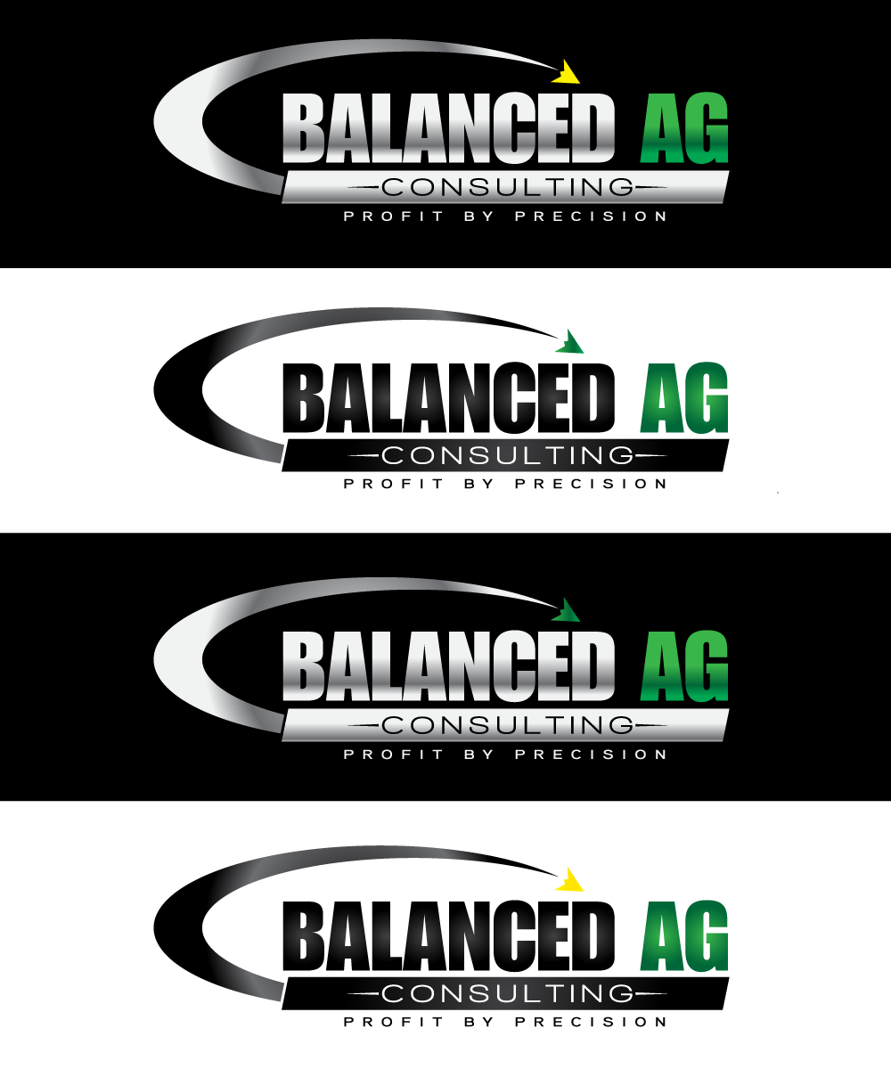 Logo Design by Art_Chaza - Entry No. 147 in the Logo Design Contest Captivating Logo Design for Balanced Ag Consulting.