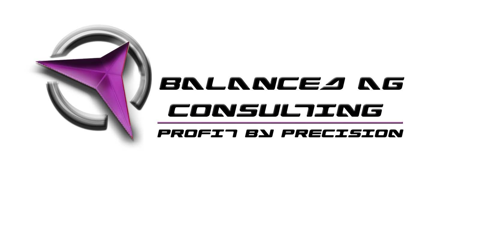 Logo Design by Daniella Eisenberg - Entry No. 212 in the Logo Design Contest Captivating Logo Design for Balanced Ag Consulting.