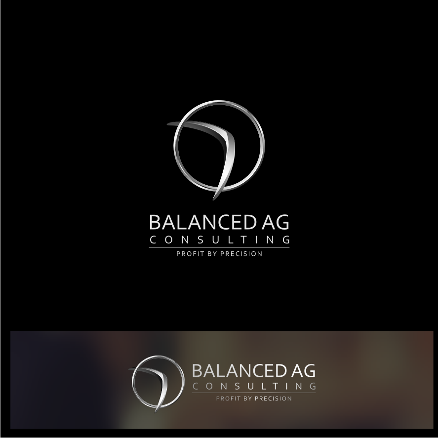 Logo Design by graphicleaf - Entry No. 229 in the Logo Design Contest Captivating Logo Design for Balanced Ag Consulting.