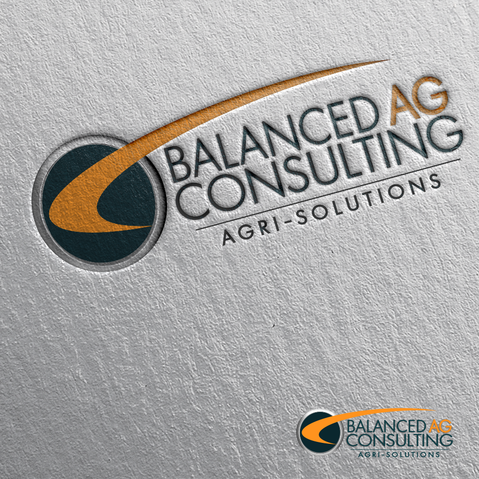 Logo Design by moonflower - Entry No. 253 in the Logo Design Contest Captivating Logo Design for Balanced Ag Consulting.