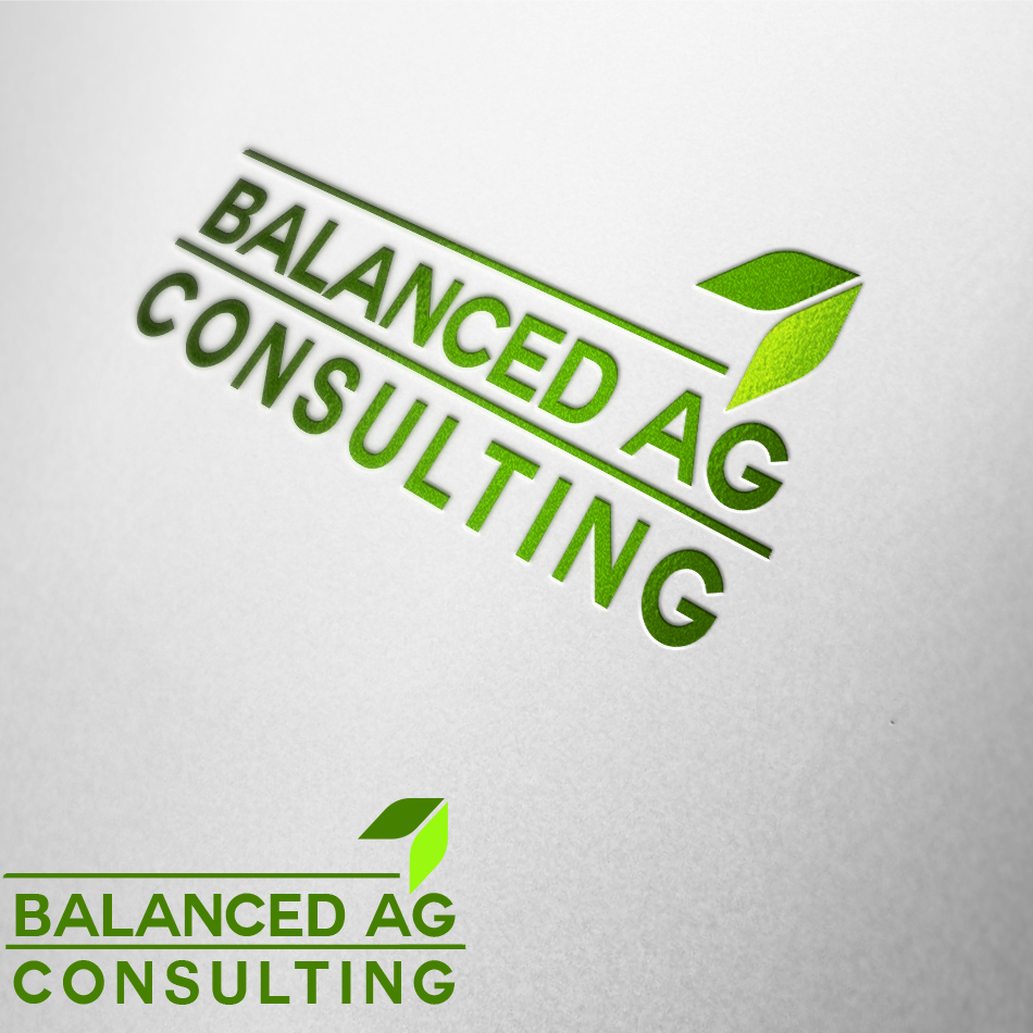 Logo Design by moonflower - Entry No. 258 in the Logo Design Contest Captivating Logo Design for Balanced Ag Consulting.