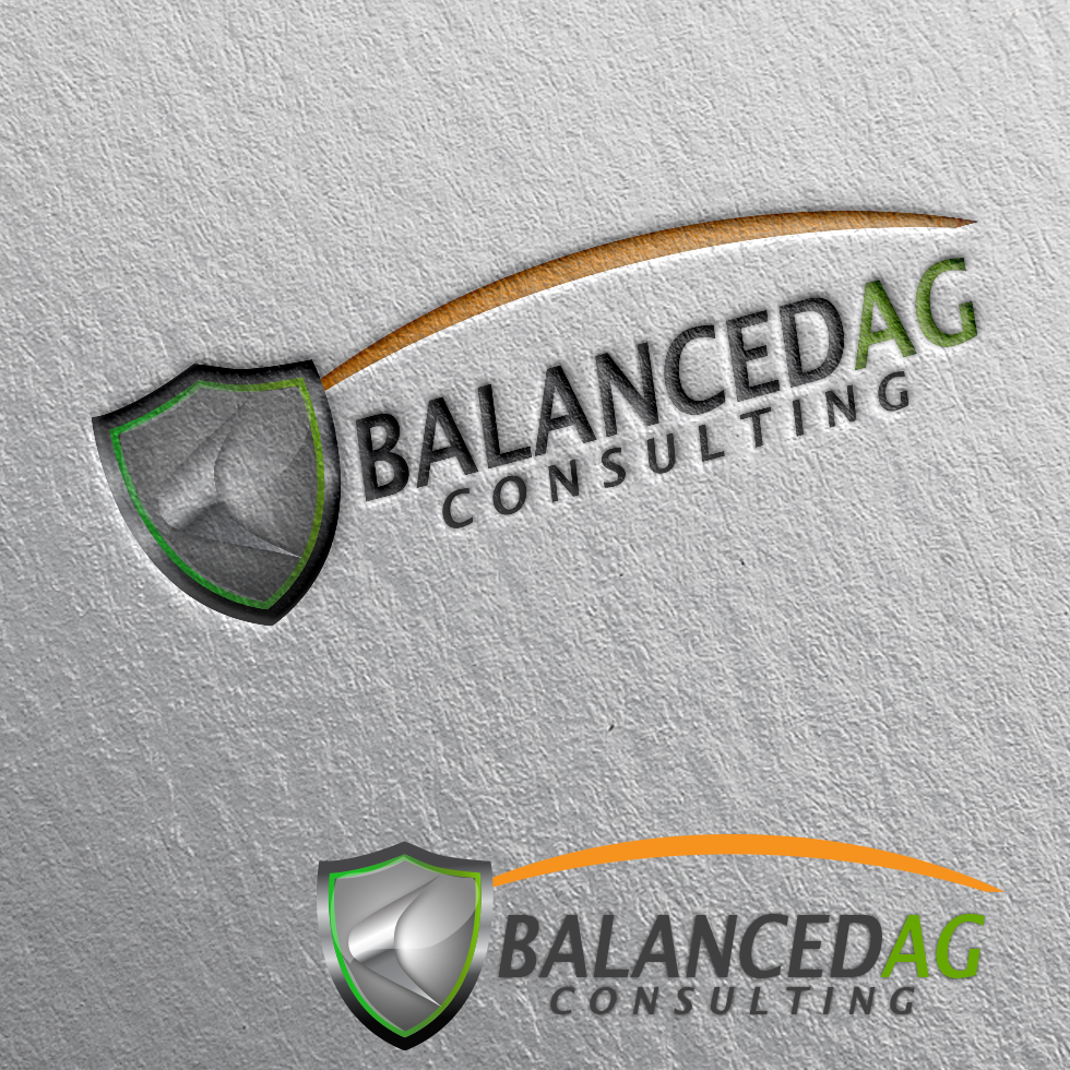 Logo Design by moonflower - Entry No. 262 in the Logo Design Contest Captivating Logo Design for Balanced Ag Consulting.
