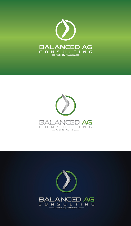 Logo Design by RasYa Muhammad Athaya - Entry No. 274 in the Logo Design Contest Captivating Logo Design for Balanced Ag Consulting.