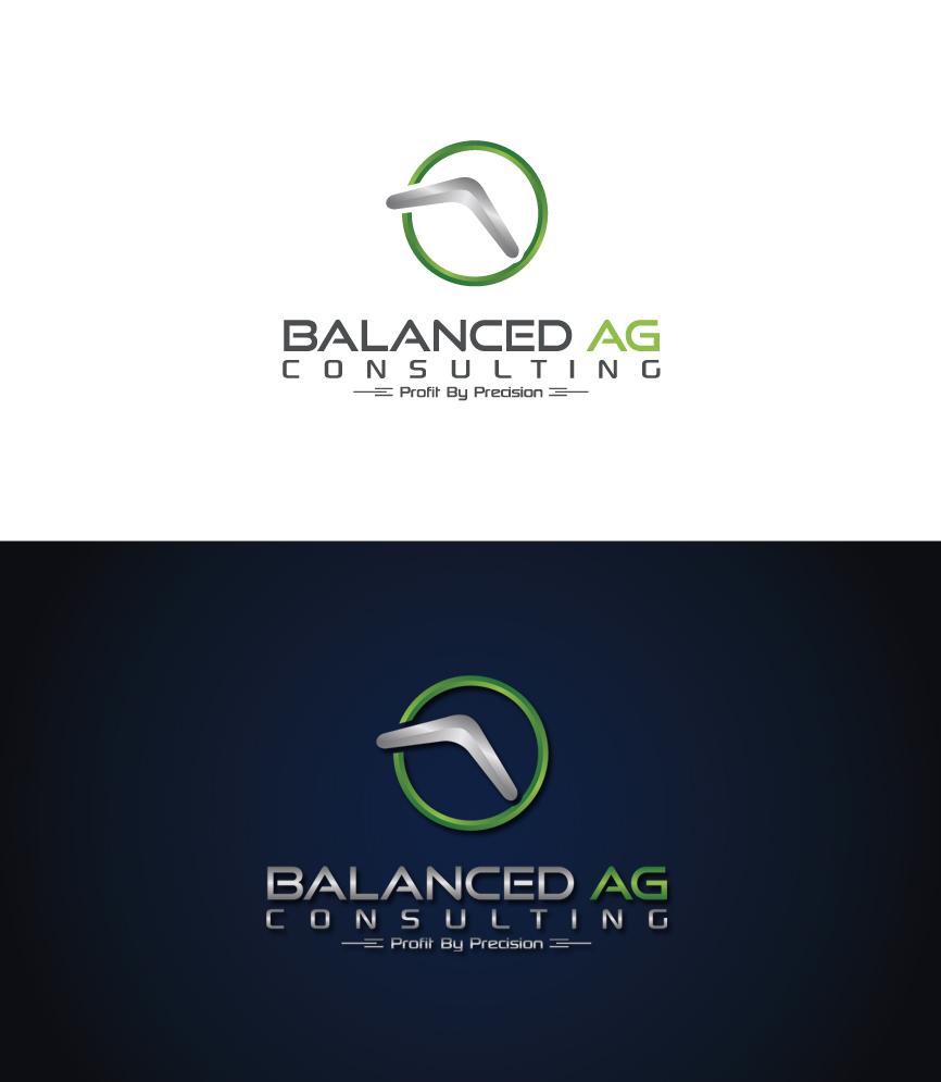 Logo Design by RasYa Muhammad Athaya - Entry No. 279 in the Logo Design Contest Captivating Logo Design for Balanced Ag Consulting.