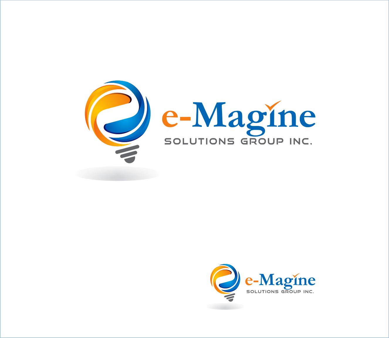 Logo Design Contests » Artistic Logo Design for e-Magine Solutions ...
