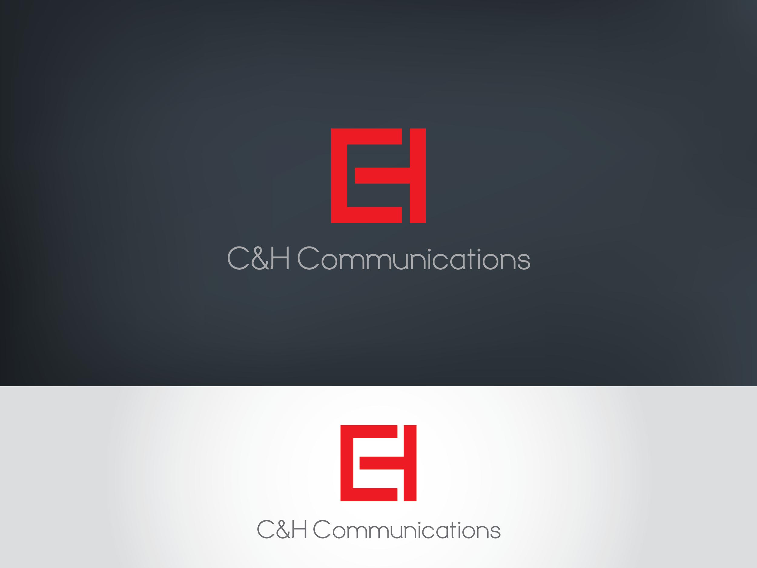 Logo Design by Shahab Uddin - Entry No. 27 in the Logo Design Contest Artistic Logo Design for C&H Communications.