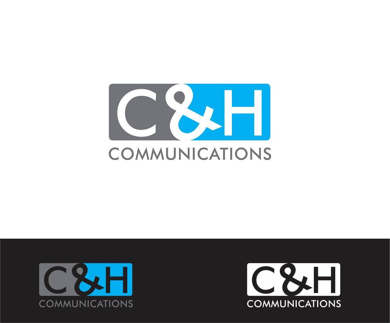 Logo Design by Reivan Ferdinan - Entry No. 77 in the Logo Design Contest Artistic Logo Design for C&H Communications.