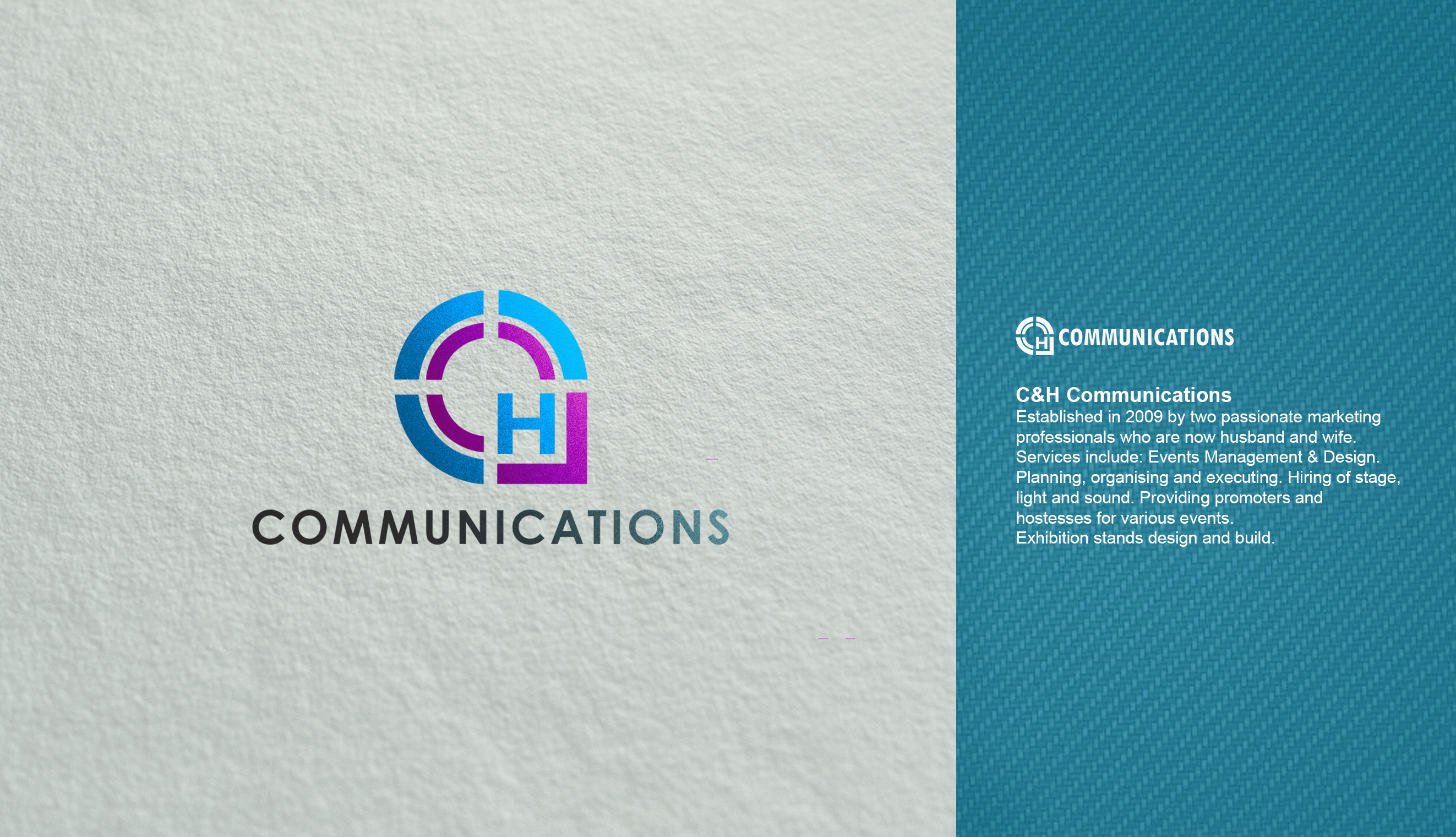 Logo Design by Rijall Blues - Entry No. 78 in the Logo Design Contest Artistic Logo Design for C&H Communications.
