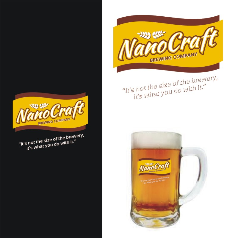 Logo Design by Private User - Entry No. 39 in the Logo Design Contest Unique Logo Design Wanted for NanoCraft Brewing Company.