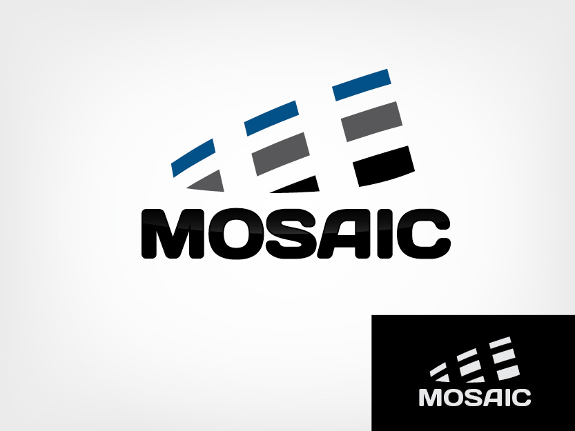 Logo Design by Private User - Entry No. 65 in the Logo Design Contest Mosaic Information Technology Logo Design.