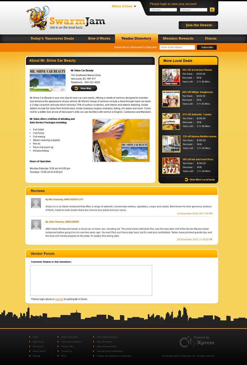 Web page design contests website facelift for Web page architecture