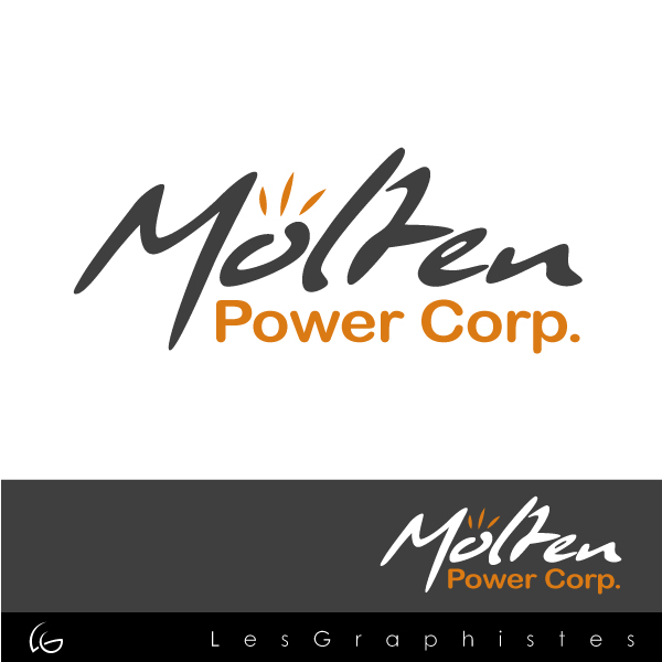 Logo Design by Les-Graphistes - Entry No. 26 in the Logo Design Contest Molten Power Corp..