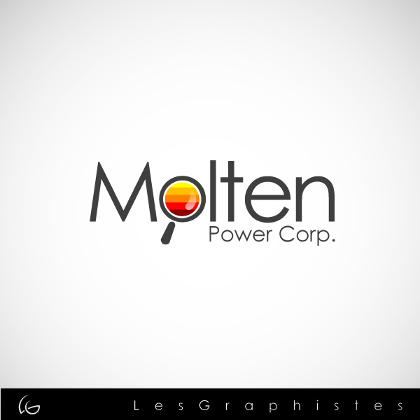 Logo Design by Les-Graphistes - Entry No. 27 in the Logo Design Contest Molten Power Corp..