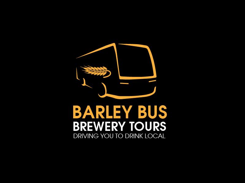 logo design contests fun logo design for barley bus brewery tours