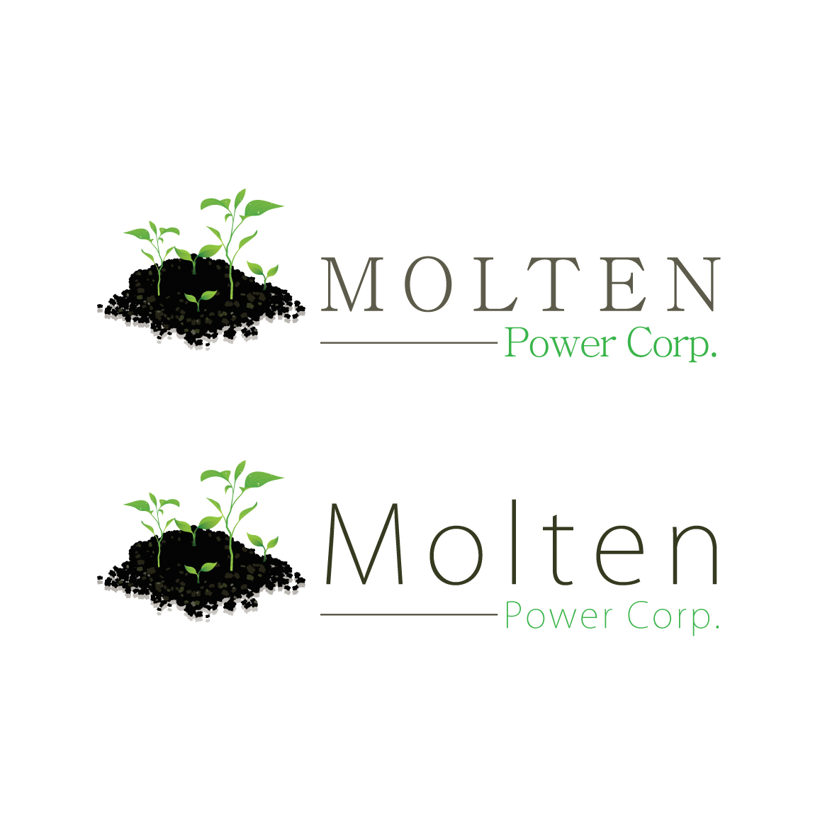 Logo Design by ex - Entry No. 47 in the Logo Design Contest Molten Power Corp..