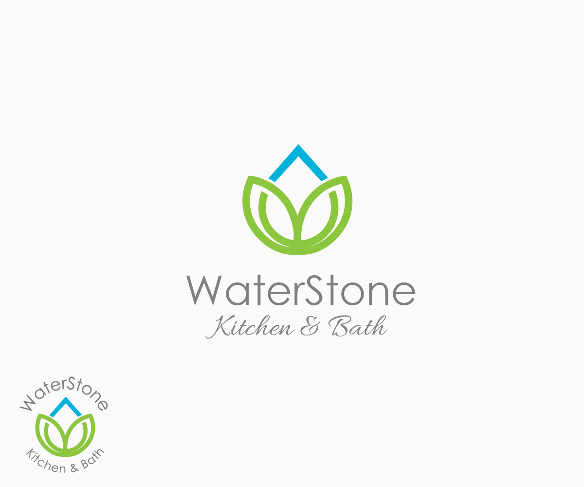 Charming Logo Design By Juan Luna   Entry No. 1 In The Logo Design Contest WaterStone