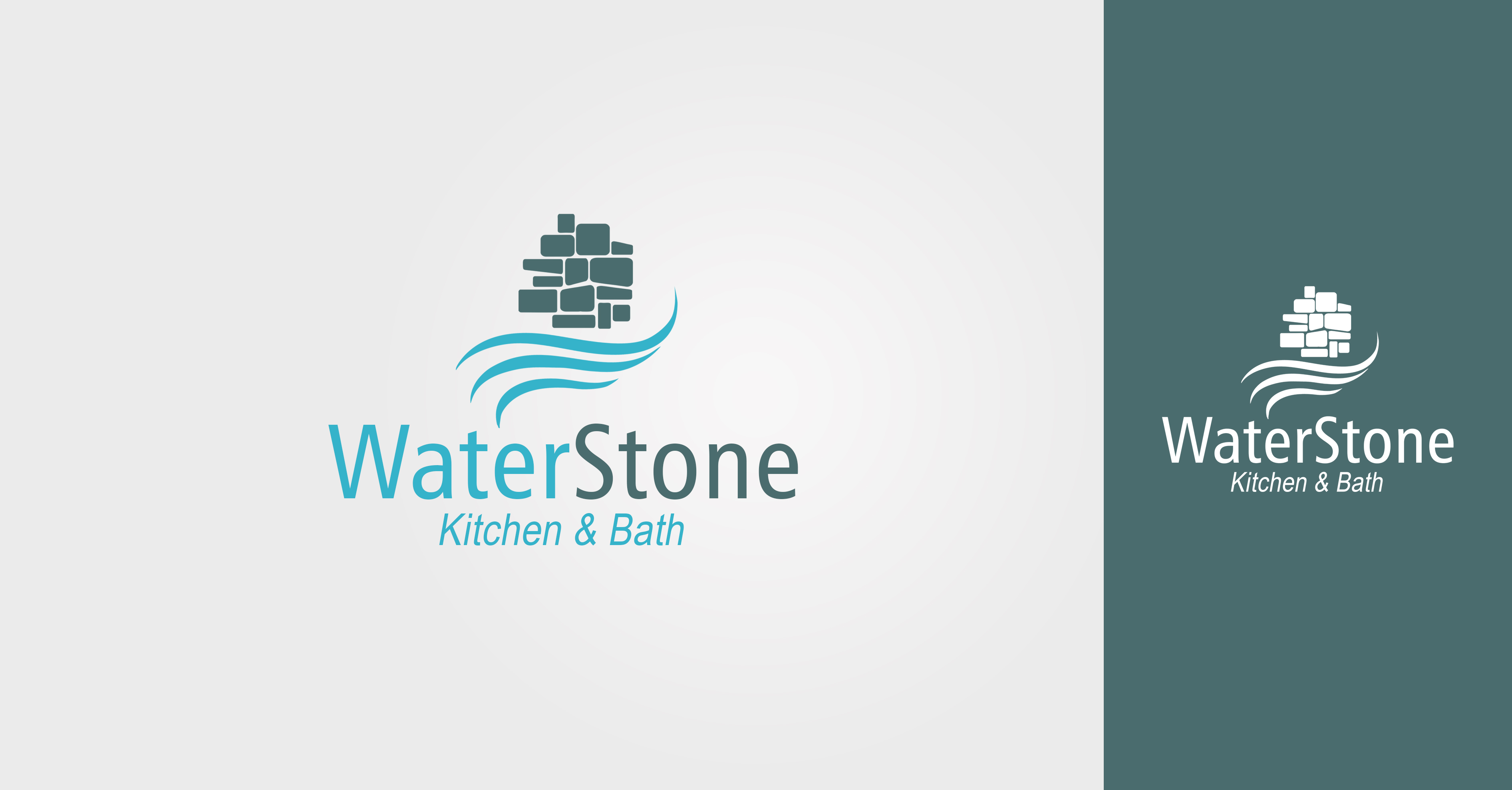 logo design contests waterstone kitchen bath logo design more entries from this contest