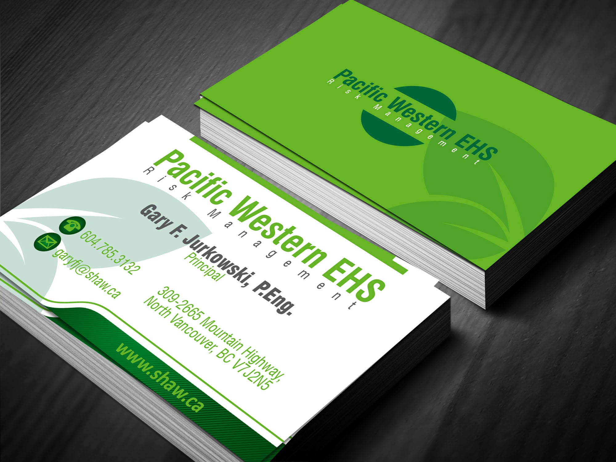 Safety green business cards gallery card design and card for Ambit energy business card template