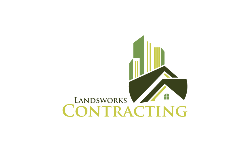 Logo Design by RasYa Muhammad Athaya - Entry No. 73 in the Logo Design Contest New Logo Design for Landworks contracting.
