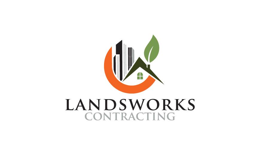 Logo Design by RasYa Muhammad Athaya - Entry No. 84 in the Logo Design Contest New Logo Design for Landworks contracting.