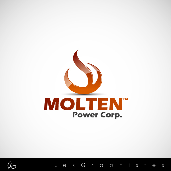 Logo Design by Les-Graphistes - Entry No. 70 in the Logo Design Contest Molten Power Corp..