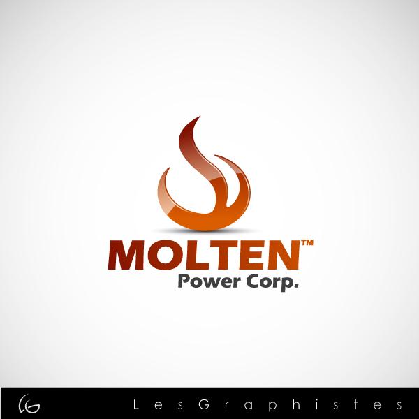 Logo Design by Les-Graphistes - Entry No. 71 in the Logo Design Contest Molten Power Corp..