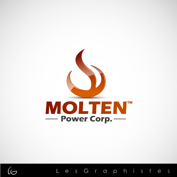 Logo Design by Les-Graphistes - Entry No. 72 in the Logo Design Contest Molten Power Corp..