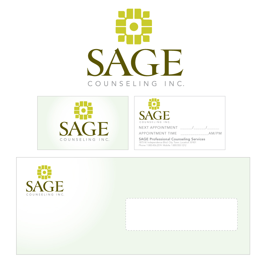 Logo Design by MarkDTN8 - Entry No. 109 in the Logo Design Contest Sage Counselling Inc..