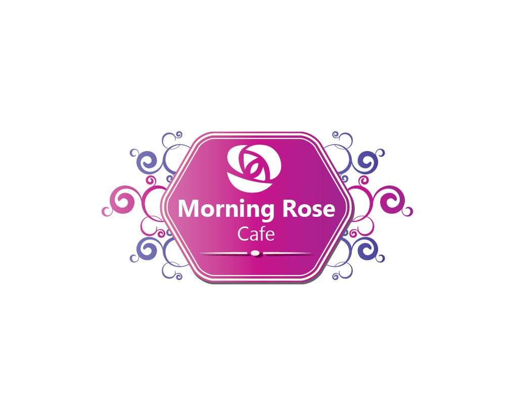 logo design contests » artistic logo design for morning rose cafe