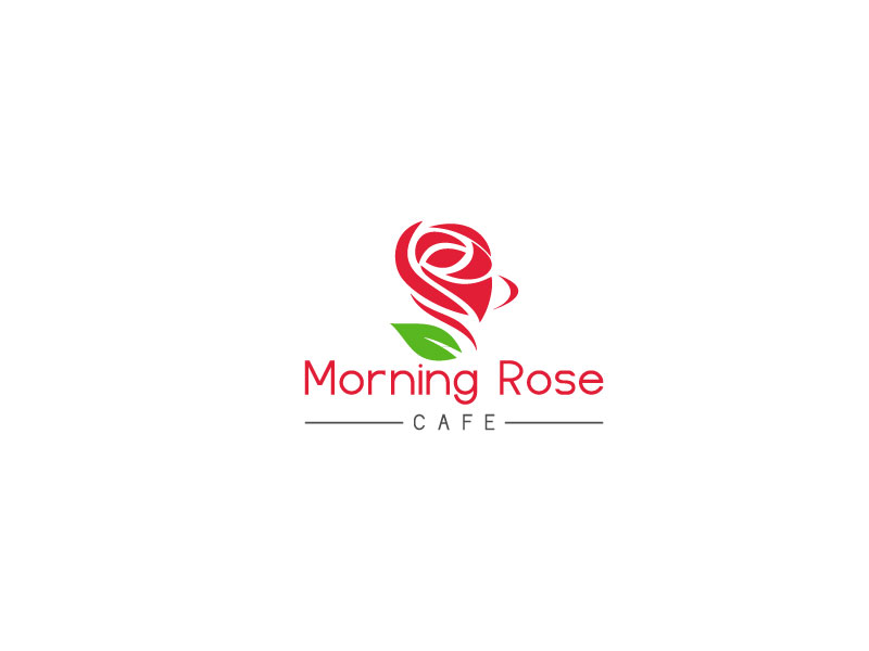 Logo Design Contests Artistic Logo Design For Morning Rose Cafe