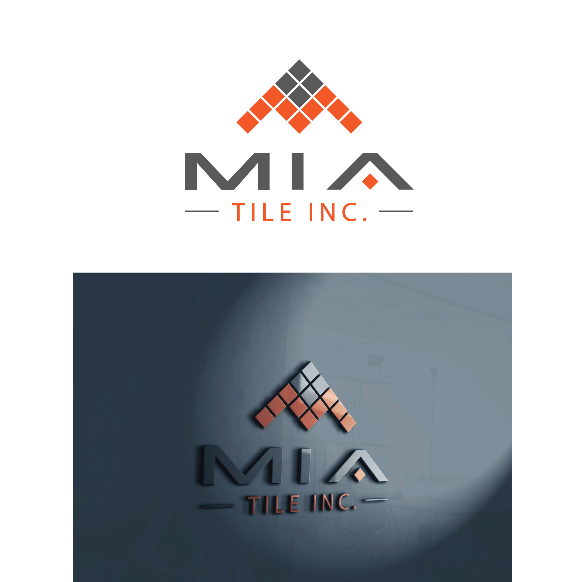 logo design contests fun logo design for mia tile inc design no rh hiretheworld com tile logon tile logon