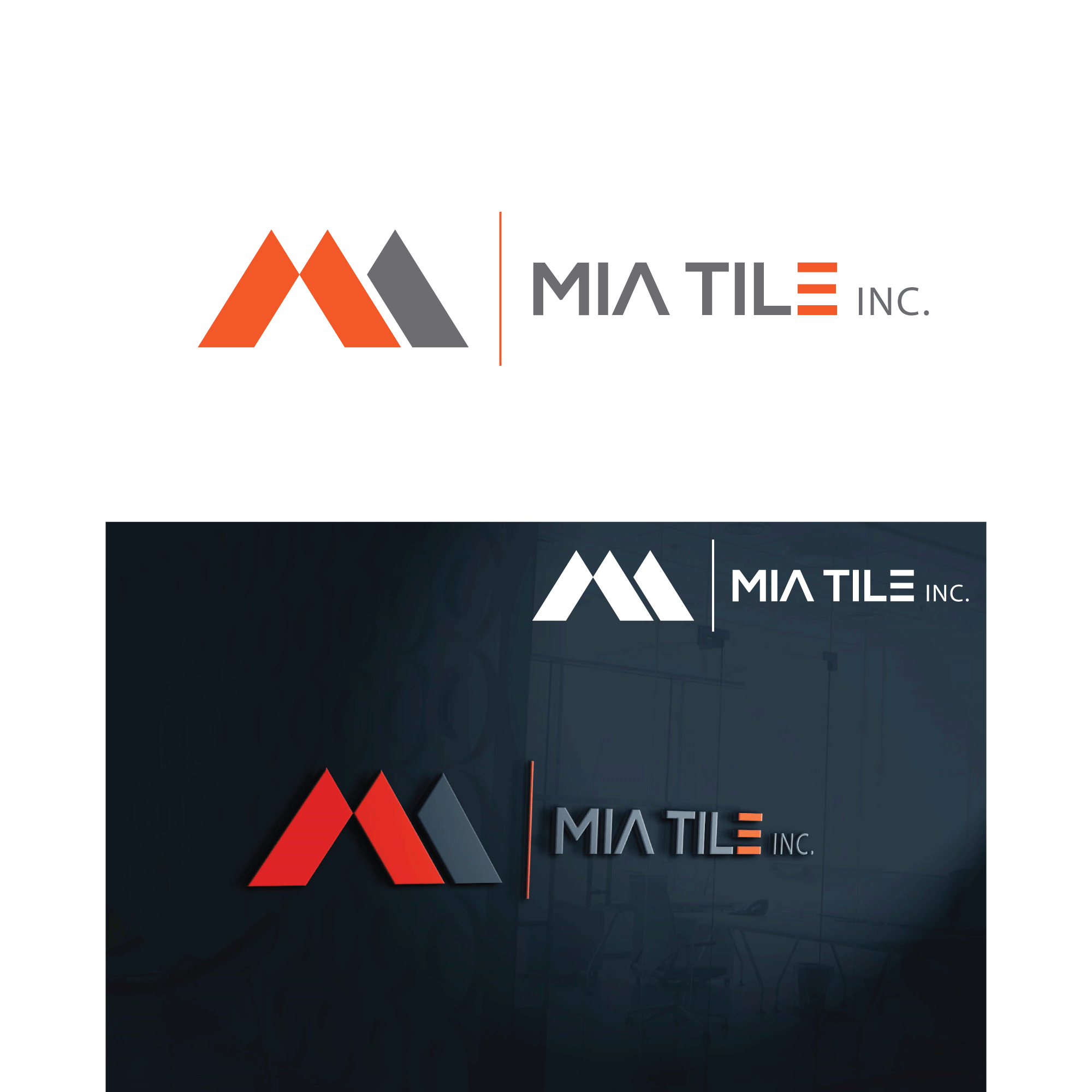 Logo Design Contests » Fun Logo Design for Mia Tile Inc ...