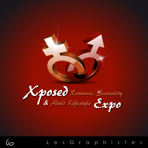 Logo Design by Les-Graphistes - Entry No. 9 in the Logo Design Contest Xposed Romance, Sexuality & Adult Lifestyle Expo.