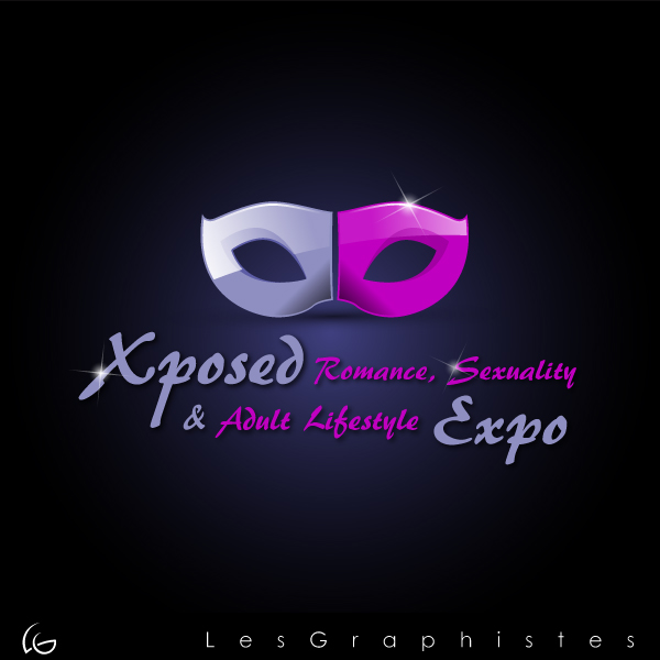 Logo Design by Les-Graphistes - Entry No. 10 in the Logo Design Contest Xposed Romance, Sexuality & Adult Lifestyle Expo.