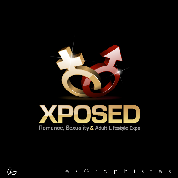 Logo Design by Les-Graphistes - Entry No. 21 in the Logo Design Contest Xposed Romance, Sexuality & Adult Lifestyle Expo.