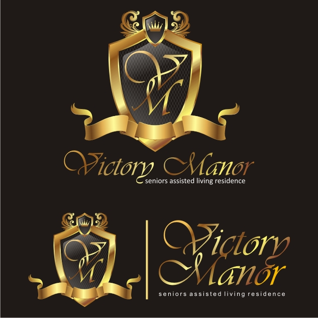 Logo Design by Private User - Entry No. 13 in the Logo Design Contest Victory Manor.