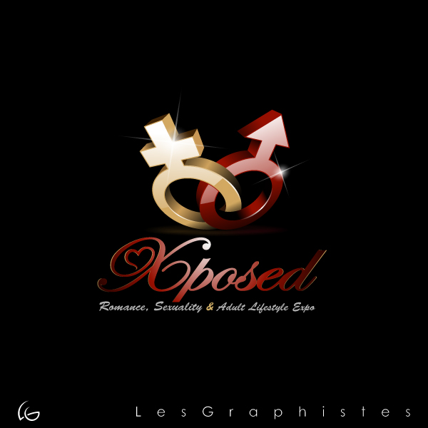 Logo Design by Les-Graphistes - Entry No. 34 in the Logo Design Contest Xposed Romance, Sexuality & Adult Lifestyle Expo.