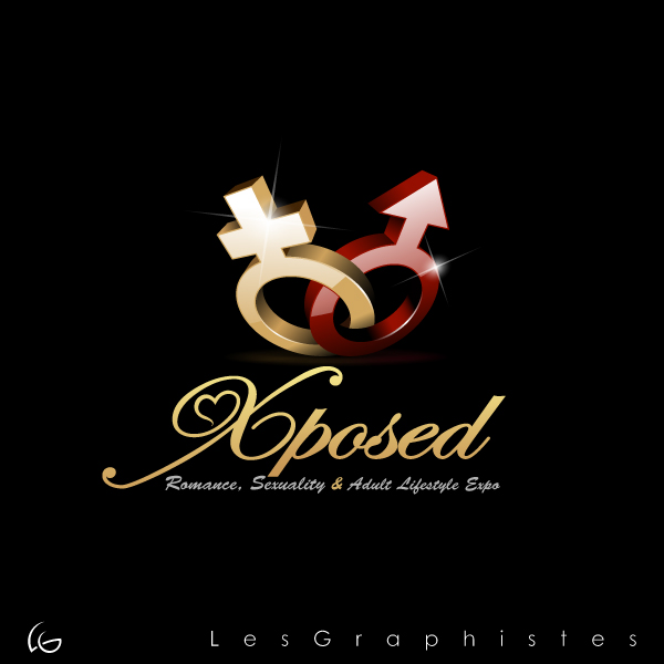 Logo Design by Les-Graphistes - Entry No. 42 in the Logo Design Contest Xposed Romance, Sexuality & Adult Lifestyle Expo.