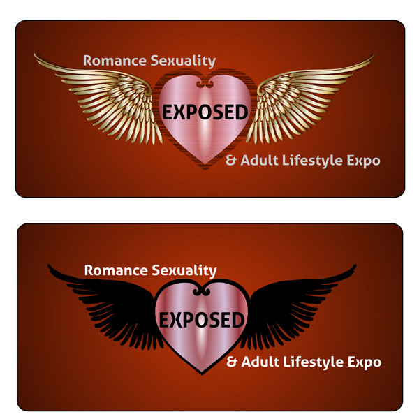 Logo Design by Deborah Wise - Entry No. 47 in the Logo Design Contest Xposed Romance, Sexuality & Adult Lifestyle Expo.