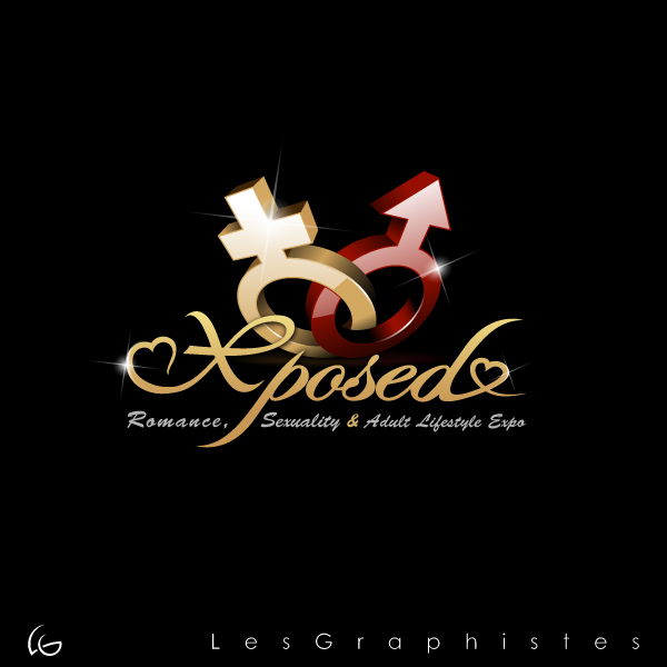 Logo Design by Les-Graphistes - Entry No. 50 in the Logo Design Contest Xposed Romance, Sexuality & Adult Lifestyle Expo.