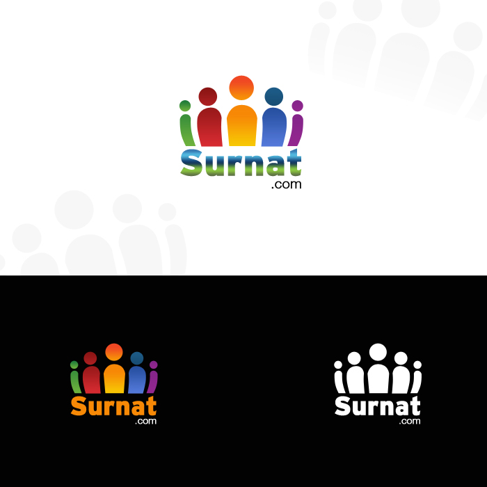 Logo Design by funnybone - Entry No. 44 in the Logo Design Contest Surnat.com.