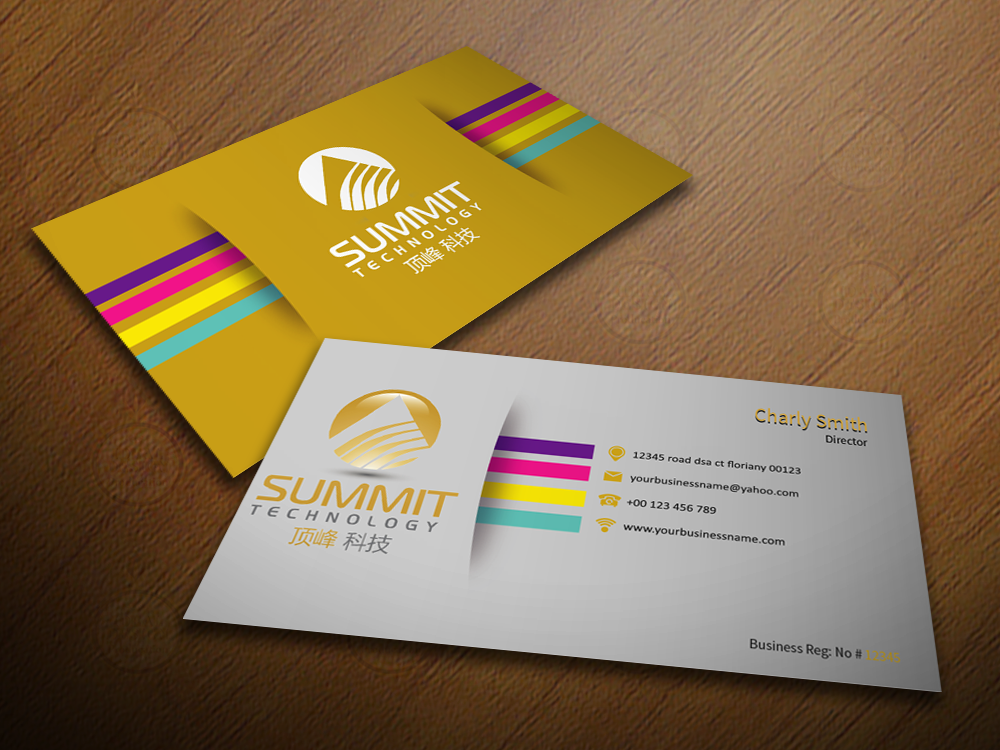 Business Card Design By Ideal Production