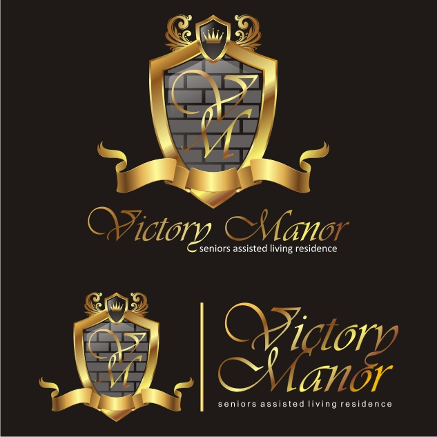 Logo Design by Private User - Entry No. 22 in the Logo Design Contest Victory Manor.