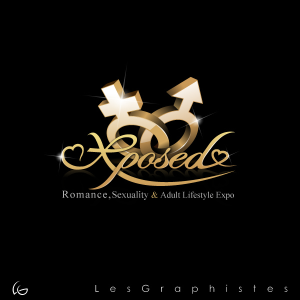 Logo Design by Les-Graphistes - Entry No. 67 in the Logo Design Contest Xposed Romance, Sexuality & Adult Lifestyle Expo.