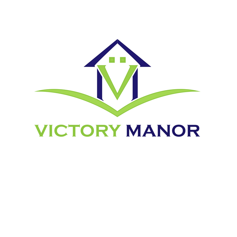 Logo Design by zams - Entry No. 28 in the Logo Design Contest Victory Manor.